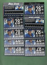 Dion Lewis (New England Patriots) 20/2011 Press Pass #31 Rookie Card lot