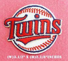 Small Minnesota Twins Baseball MLB Logo Patch sport Embroidery iron,sewing on