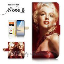 ( For Samsung S10e ) Wallet Flip Case Cover P21329 Marilyn Monroe