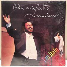 """sealed! Luciano Pavarotti """"I'm Italy"""" 2LP set Mizar Records Italian Import"""