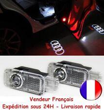 Audi led logo projecteur sol laser portes A1 A2 A3 A4 A5 A6 A7 A8 ampoule led X2