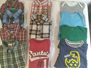 Lot of 11 Pieces Baby Boy 12 Months (1 -18 Mos), Timberland, Wrangler, Carter's