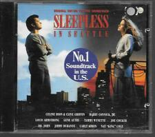 CD ALBUM 12 TITRES--BOF/OST SLEEPLESS IN SEATTLE--JIMMY DURANTE/DION