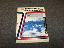 1979 Evinrude 25 35 HP Outboard Motor Shop Service Repair Manual Guide Book