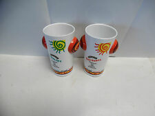 Lot of 2 Baileys Rumba Glasses. They rattle and have 2 recipes on them. Nice MC3
