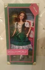 Barbie Dolls of the World- 2012 Ireland with pet Irish Setter