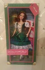 Barbie Dolls of the World- 2012 Ireland with pet Irish Setter