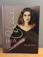 CELINE DION Tour de Force<>1998 HARDBACK BOOK<>NEW<.SEALED<>OOP