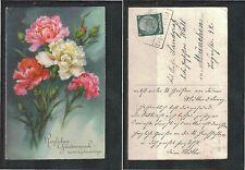 Echte Ungeprüfte Briefmarken aus dem deutschen Reich (1924-1932) mit Bedarfsbrief