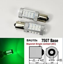 7507 BAU15S PY21W 92 LED Projector Green Bulb Front Signal B1 JP USA Euro