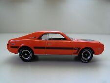 JOHNNY LIGHTNING - PONY POWER - (1969) '69 AMC JAVELIN SST (ORANGE) 1/64 (LOOSE)