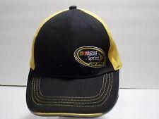 NASCAR hat Sprint Cup Series Baseball cap Black Gold Adjustable