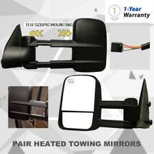 Power Rearview Towing Heated Mirror Fits 1999-2002 Chevy Silverado/GMC Sierra