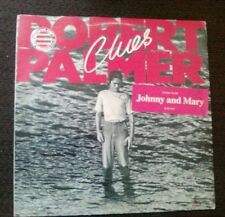 Rare promotional copy 12' Vinyl LP Record Album Robert Palmer Clues
