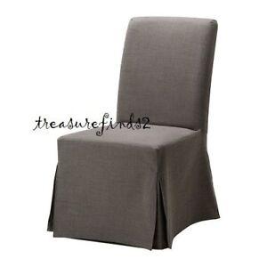 IKEA Cover for HENRIKSDAL Chair Long Svanby Gray Grey Slipcover 602.526.36 NOS