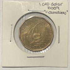 2009 Montreal Canadiens Canada $1 Dollar Loonie - Circulated