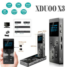 XDUOO X3 HIFI Lossless Music MP3 Audio Player OLED Screen Support 256GB TF Card
