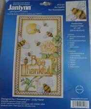 """Bee Thankful"" - Counted Cross Stitch - Janlynn craft kit"