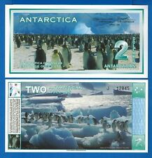 Antarctica $2 Dollar December 1996 (2009) Polymer Uncirculated Free Shipping