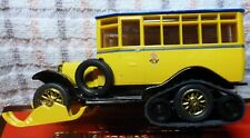 """MATCHBOX LIMITED EDITION """"1923 SCANIA –VABIS POST BUS """" BOXED SCALE 1/49TH"""