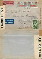 1170 - Svizzera - Censura + posta aerea su espresso da Ascona a Ellesmere, 1941