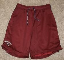 "ABERCROMBIE Large Burgundy Shorts Exercise Athletic Waist: 29"" Basketball Mens"