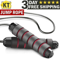 Jump Rope Gym Aerobic Exercise Boxing Skipping Adjustable Speed Training Fitness