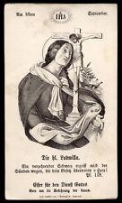 santino incisione 1800 S.LUDMILLA