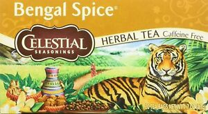 Celestial Seasonings Bengal Spice Tea, 20 Tea Bags, Exp. 04/2022