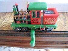 Vintage 1986 Roman Evergreen Express Stocking Holder Locomotive - Nib