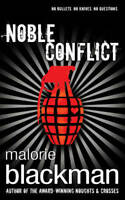 Noble Conflict, Blackman, Malorie, Used Excellent Book