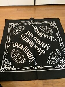JACK DANIELS Old No. 7 BANDANA Head Wrap Scarf Can Use As A Face Covering