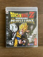 Dragon Ball Z Burst Limit CIB Complete in Box PS3 Playstation 3 Tested Works
