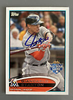 Giancarlo Stanton Miami Marlins Autographed Signed Baseball Card
