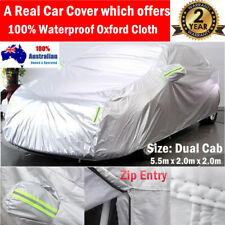 Durable 100% Waterproof Oxford Cloth Car Cover Large Dual Cab fits Toyota Hilux