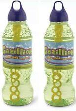 Gazillion Bubbles 1 Liter Bubble Solution 2 Liters Total NEW- Ships Today