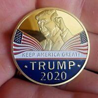 Donald Trump 2020 Keep America Great Commemorative Challenge Coin