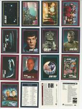 Star Trek 25th Anniversary Series 1 - Complete Trading Cards SET (160) 1991 - NM