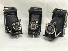 Vintage Cameras Set Of 3.