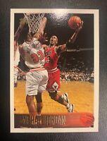 1995-96 Michael Jordan HOF Topps #139 great corners. Very shiny sharp card