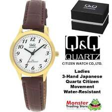 AUSSIE SELLER LADIES LEATHER BAND WATCH CITIZEN MADE C153J104 GIFT BOX INCLUDED