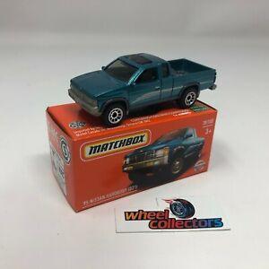 '95 Nissan Hardbody D21 * Aqua * 2021 Matchbox POWER GRABS Case Y * WG3