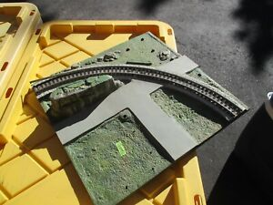 American Flyer All Aboard Panel or Parts AA40 (2/6/21) Track damage