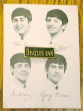 BEATLES TIE TAC PIN ON CARD