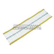 100 ohm 1/4W Resistors (50 Pack)