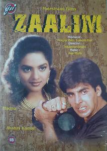 ZAALIM - NEW GVI ORIGINAL BOLLYWOOD DVD - Akshay Kumar & Madhu.