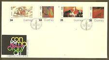 CEPT 1993/ Guernsey MiNr 608/11 FDC