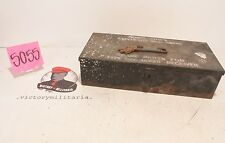 WWII US Navy Spare Parts Box for Gun Receiver