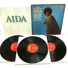 Verdi Aida Leontyne Price & Domingo 1971 RCA Red Seal LSC-6198 3 Box Set Opera
