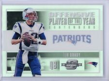 2017 Panini Contenders Optic TOM BRADY #72/99 Offensive Player of Year Patriots
